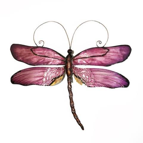 Handmade Dragonfly Purple