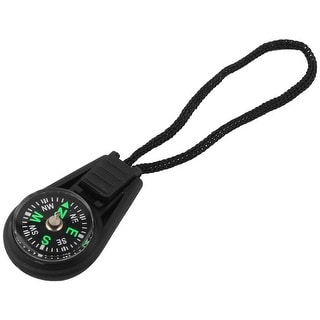 Unique Bargains Camping Hiking Traveling Portable Mini Compass w Lanyard