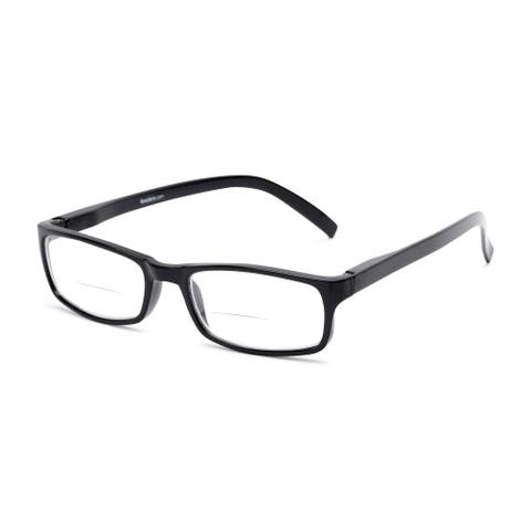Readers.com The Vancouver Bifocal Rectangle Reading Glasses