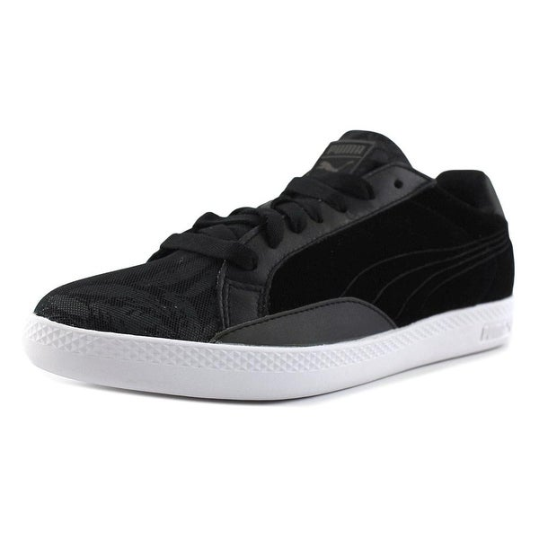 Puma Match Swan Women Suede Black Fashion Sneakers