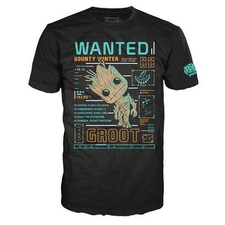 Marvel Guardians of the Galaxy Funko POP Tees Groot Line Up