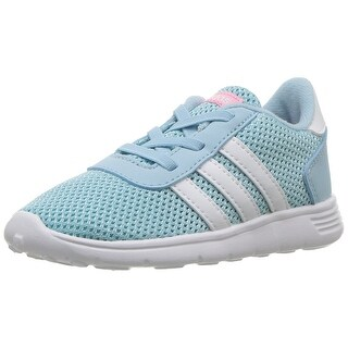 Adidas Girls Lite Racer Low Top Bungee Walking Shoes