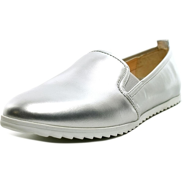 Bar III Opal Women Round Toe Synthetic Loafer