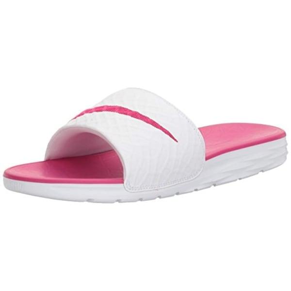 6fee4367e Shop Nike Women s Benassi Solarsoft Slide Sandal