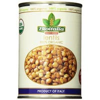 Bioitalia Organic Beans - Lentils - Case of 12 - 14 oz.