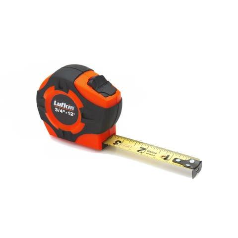 "Lufkin PHV1312 Tape Measure, 3/4"" x 12'"