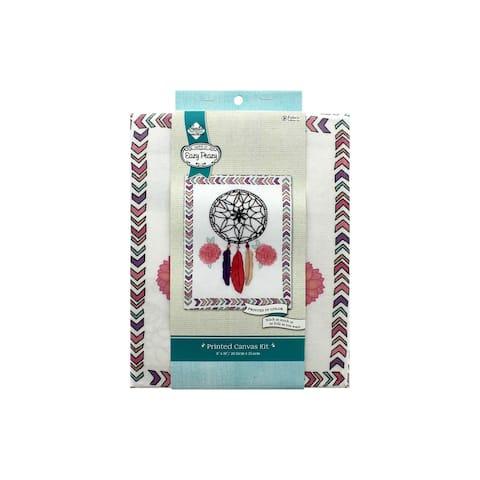 Needle Creations Kit Emb Canvas 8x10 Dream Catcher