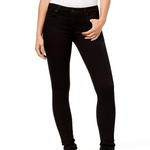 Joe's Flawless Mid-Rise Skinny Jeans Black