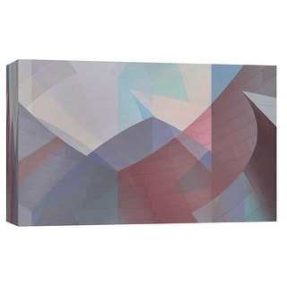 """PTM Images 9-102279  PTM Canvas Collection 8"""" x 10"""" - """"Geary V2C"""" Giclee Abstract Art Print on Canvas"""