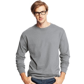 Hanes Men's TAGLESS Comfortsoft Long-Sleeve T-Shirt