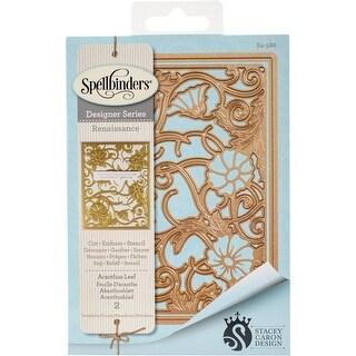 Spellbinders Card Creator Die-Acanthus Leaf Card Front