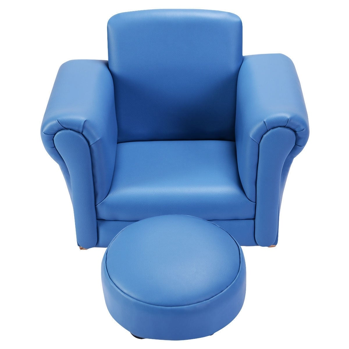 Playrooms Blue Classrooms SPG-1528-BL Sprogs Toddler Comfort Sofa for Bedrooms