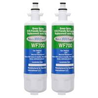 Replacement LG LFXS29766S Refrigerator Water Filter by Aqua Fresh (2 Pack)