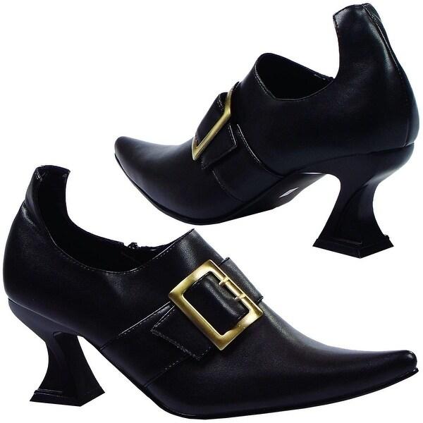 Hazel Witch Costume Shoe Black. Opens flyout.
