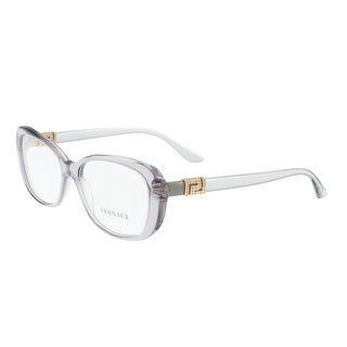 Versace VE3234B 593 Transparent Grey Rectangle Optical Frames - 53-16-140