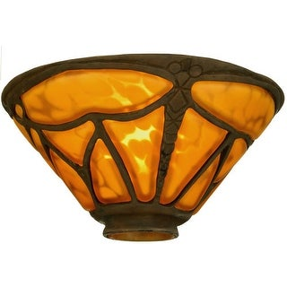"Meyda Tiffany 21252 7.5"" W Castle Dragonfly Shade"