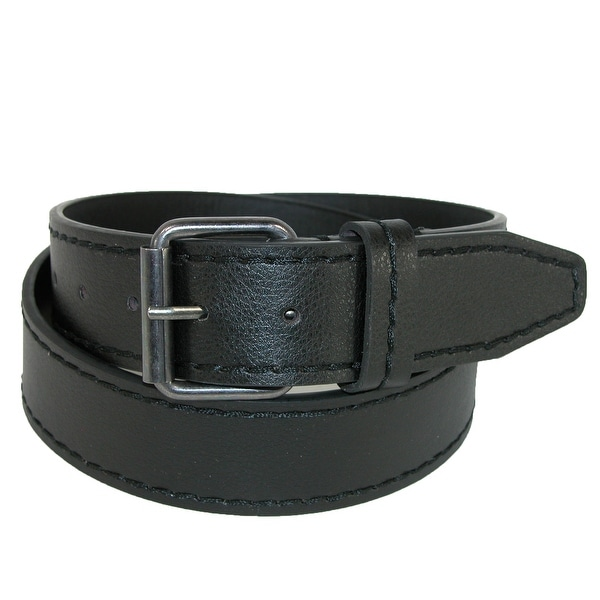 Aquarius Men's Pebble Grain Stitch Edge Belt