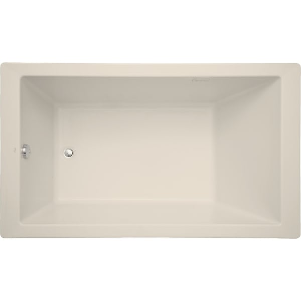 "Mirabelle MIRSKA6036 Sitka 60"" X 36"" Acrylic Air Bathtub for Drop In or Undermount Installations with Reversible Blower and"