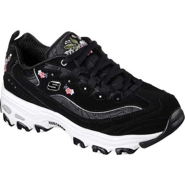 0ceb13fe548 Shop Skechers Women's D'Lites Bright Blossoms Sneaker Black - Free ...