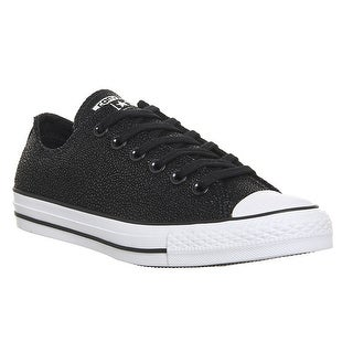Converse Women's Chuck Taylor All Star Stingray Metallic Ox Basketball Shoe - Black