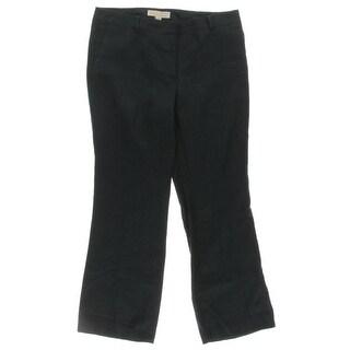 MICHAEL Michael Kors Womens Dress Pants Linen Signature - 6