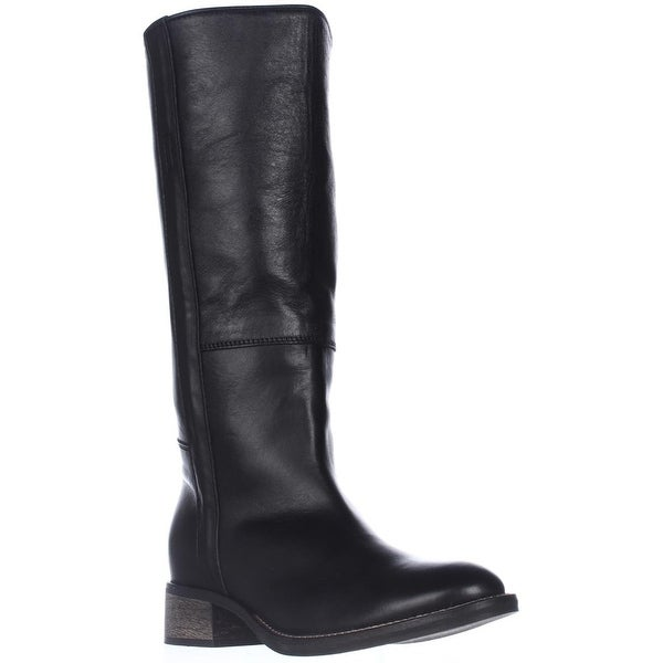Mally Cordi Fashion Knee-High Boots, Black - 10 us / 40 eu