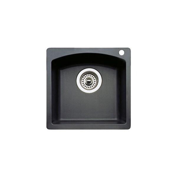 "Blanco 440204 Diamond Single Basin Silgranit II Bar Sink 15"" x 15"" - Anthracite - N/A"
