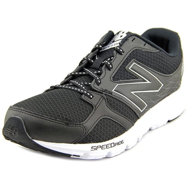 New Balance M490 Men Round Toe Synthetic Black Running Shoe