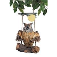 HOWIE THE HOOT OWL DESIGN TOSCANO Birds  Bird  Owl sculpture  bird sculpture
