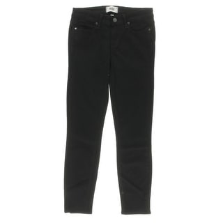 Paige Womens Skinny Jeans Denim Cropped