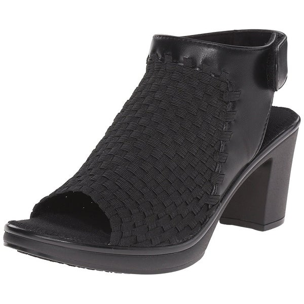 STEVEN by Steve Madden Womens Ezzme Fabric Open Toe Casual Slingback Sandals - 8.5