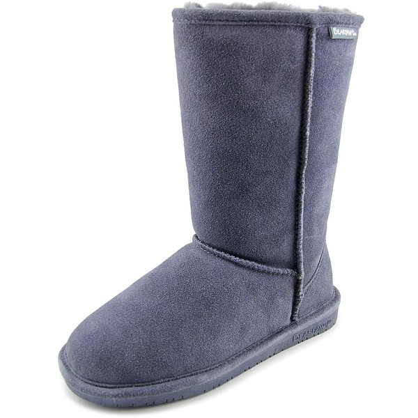 Bearpaw Emma Women Round Toe Suede Gray Winter Boot