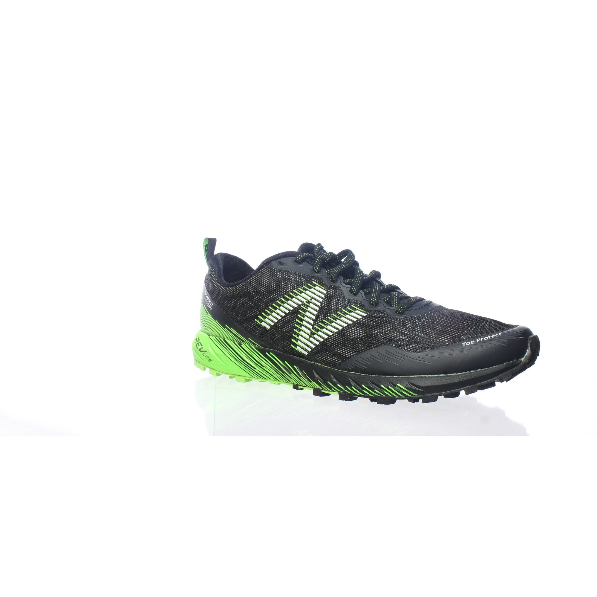 Black/Lime Running Shoes Size 9.5 (2E