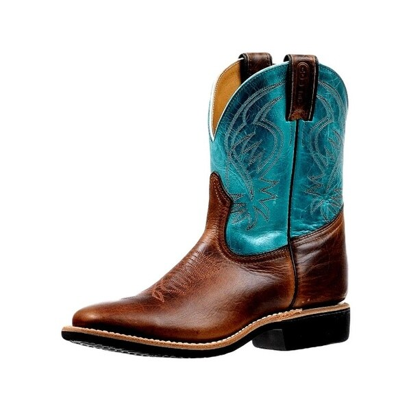 Boulet Western Boots Womens Embroidery Square Damiana Turqueza