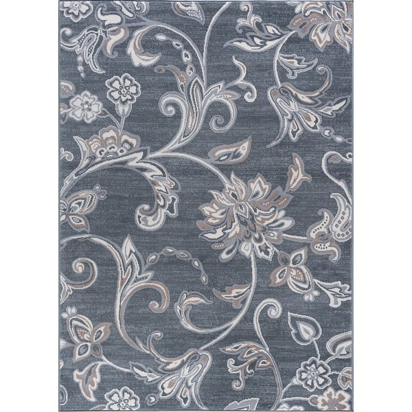Alise Rugs Carrington Transitional Floral Area Rug. Opens flyout.