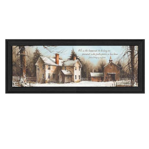 Peace In this Home' Framed Art