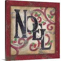 Kim Lewis Premium Thick-Wrap Canvas entitled Noel