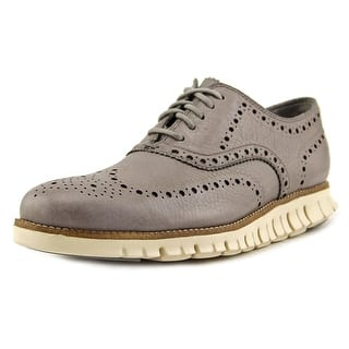 Cole Haan ZeroGrand Wing Ox Men Round Toe Leather Gray Oxford|https://ak1.ostkcdn.com/images/products/is/images/direct/db1c00e189210065dc908a004b4f6f07485326a7/Cole-Haan-ZeroGrand-Wing-Ox-Men-Round-Toe-Leather-Gray-Oxford.jpg?impolicy=medium