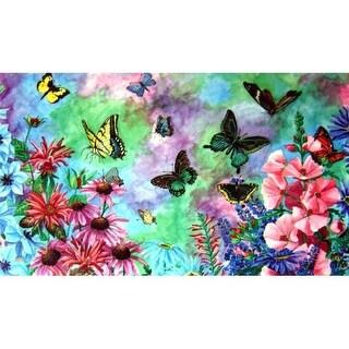 Dm-06 Butterflies Door Mat