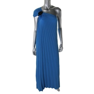 Halston Heritage Womens Pleated Prom Evening Dress - 2