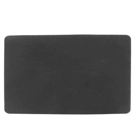 Unique Bargains Black Silicone Optical Mouse Pad Mat 23cm x 19cm for PC Notebook