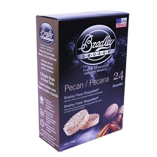 Bradley Smoker Btpc24 Pecan Flavoured Smoker Bisquettes 24-Pack
