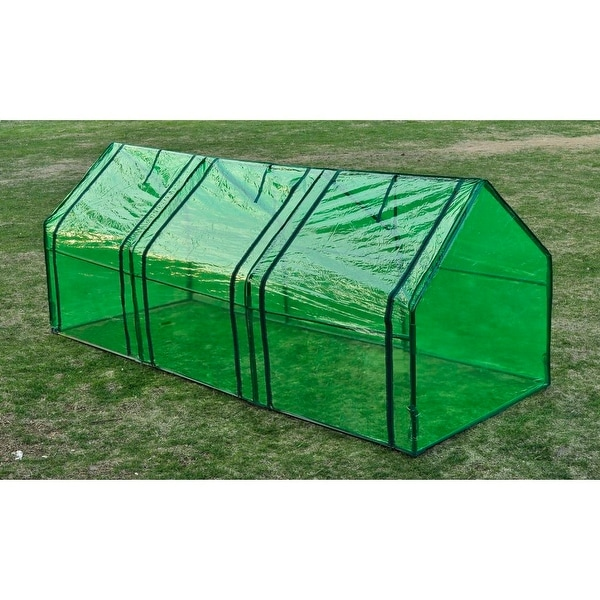 8'x3'x3' Greenhouse Mini Portable Gardening Flower Plants Yard Hot House Tunnel. Opens flyout.