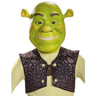 Shrek Costume Mask - Green