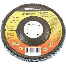 Forney 36G Blue Zir Flap Disc