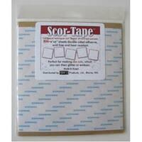 """6""""X6"""" - Scor-Tape Sheets 5/Pkg"""