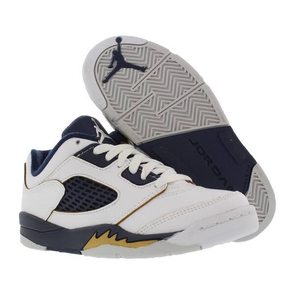 100% authentic 1c717 2f781 Shop Jordan Retro 5 Low Basketball Preschool Kid's Shoes ...