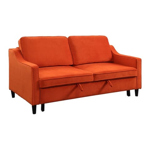 Edelweiss Convertible Studio Sofa with Pull-out Bed