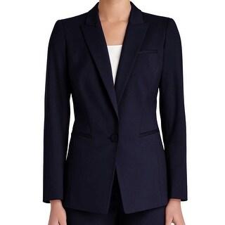 Lafayette 148 NEW Blue Ink Women's Size 6 Harvey Jacket Blazer