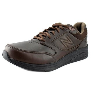 New Balance MW928 Men Round Toe Leather Brown Walking Shoe